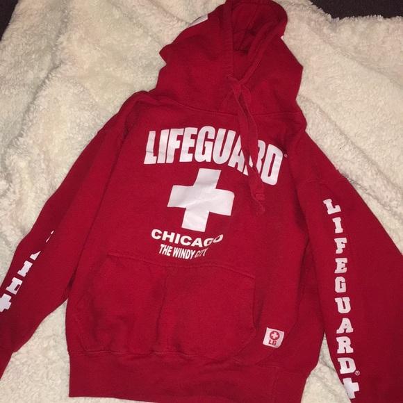 eb726ffbc39447 LIFE GUARD Tops - lifeguard hoodie